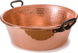 Plaisirs du cuivre le v ritable cuivre de villedieu les po les nos bonnes r - Bassine a confiture mauviel ...